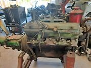 Studebaker 232 V8 And 3sp Transmission W/electric Overdrive And Engine Run Stand