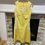Vintage Lilly Pulitzer Dress Mid-1960s Great Condition The Lilly White Label.