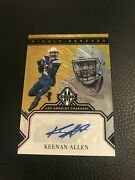 2019 Panini Majestic Gold Keenan Allen Highly Revered Auto Chargers Insert 2/2