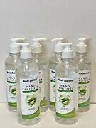 Handy Solutions Hand Sanitizer W/aloe Vera 16 Oz 6 Pack Free Ship Made In Usa