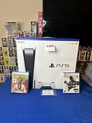 Playstation 5 Ps5 Sony Bundle Farcry 6 Ghost Of Tsushima Ps Plus 50 Gift Card