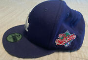 Los Angeles Dodgers 1988 World Series Baseball Hat 7 1/2 Cooperstown Collection