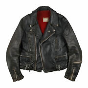 Lewis Leathers 70s Vintage Riders Jacket Lightning Blue Feather Tag Outerwear