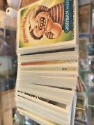 Vintage 1985 Garbage Pail Kids Cards Lot Of 100 Stickers Topps Excellent Clean