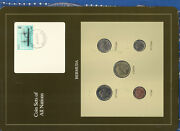 Coin Sets Of All Nations Bermuda 1988-1991 Unc 1 25 Cents 1988 510 Cents 1990