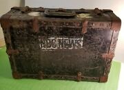 Vintage Nbc News Case Suitcase Briefcase Reel Case. Super Rare The 50and039s Or 40and039s