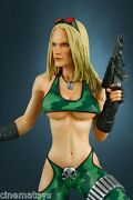 Heavy Metal Alien Marine Girl Super Sexy Statue Hollywood Collectible 1 4