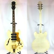 Used Epiphone Semi-acoustic Guitar Riviera P93 Pw Limited Editions Semiaco