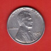 1943 D Circulated/au Steel Ww2 Rpm Penny Filler Coin 43d1021