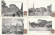 Vintage Early Lot Of Very Old 48 Italian Postcards