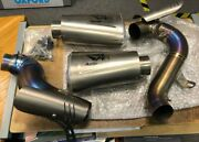 Used Austin Racing Ducati Panigale V4 S/r/speciale Gp3 De-cat Exhaust System