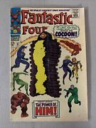 Fantastic Four Comic Marvel,1967 67 1st Appearance Of Him Silver Age