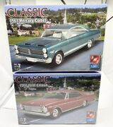 Amt Ford 1966 Galaxie 3 In 1 Sohc 427 And 1967 Mercury Comet 1/25th Sealed New