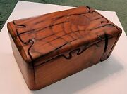 Hms Victory Oak Baffling Puzzle Box Original With Deed Of Provenance 122 Of 200