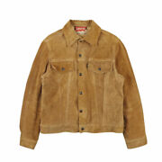 Leviand039s 60s Vintage Big E Suede Leather Jacket Camel Third Type Menand039s Outerwear