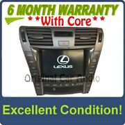 Lexus Ls460 Ls600hl Multi-display Navigation Gps Touch Screen W/climate Control