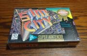 Sim City For Snes Super Nintendo Brand New Sealed Players Choice See Photos