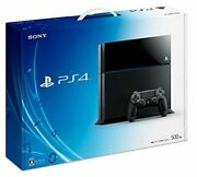 Playstation Jet Black 500gb Cuh-1100ab01 Manufacturer Discontinued Production