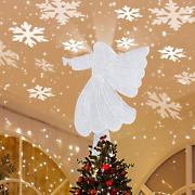 Angel Tree Topper Christmas Tree Topper Christmas Tree Toppers With Rotating Sno
