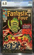 Fantastic Four 49 1966 Cgc 6.0 1st Galactus Cover And 2nd Silver Surfer