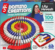 H5 Domino Creations 100-piece Set By Lily Hevesh Family Game For Adults And 5