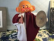 Clapping Clown Toy Demented Scary Haunted Spooky Bald Creepy Clown Shoes Vintage