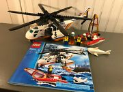 Lego City Coast Guard Helicopter 60013 100 Complete Instructions