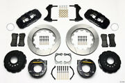 Wilwood Aero4 Rear P-brake Kit 14.00in Big For Ford New Style 2.36in Offset - Wi