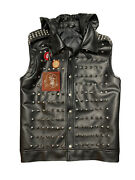 Watchdogs 2 Wrench Studded Leather Dedsec Vest Wd2 Small Costume Cosplay