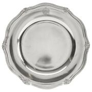 Antique Austro-hungarian Silver 800 Dish From Second Half Of 19th Century