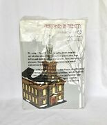 Dept 56 St. Paul's Chapel 4020173 Christmas In The City D56 New