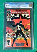Rare Siamese Pages - Marvel Super Heroes Secret Wars 8 Cgc 9.4 White