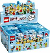 🔥 Lego Minifigures - The Simpsons Series 1 - Box In Lego Factory-sealed Case 🔥