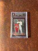 2003-04 Topps Lebron James Rookie Black Refractor /500 Bgs 8.5 Cleveland Rc Nba