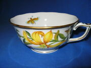 Herend Tea Cup Meadow Lily First Edition Gorgeous