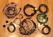 1956 Chevy Wire Harness Kit Convertible With Alternator Wiring Usa Made