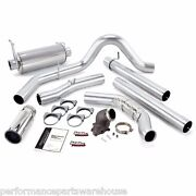 Banks Monster Exhaust And Power Elbow 01-03 F250 F350 7.3l Manual Trans