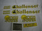 Massey Harris Challenger Tractor Decal Set - New Free Shipping