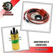 Escort Rs 2000 Escort Mexico Mkii Electronic Ignition And Lucas Dlb105 Gold Coil
