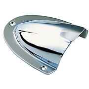 Large Chrome Plated Brass Clam Shell Ventilator Or Wire Cover For Boats