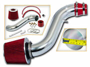 Bcp Red 90-93 Accord All 2.2l L4 Short Ram Air Intake Induction Kit + Filter
