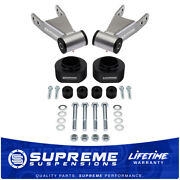 2 Full Lift Kit For 84-01 Jeep Cherokee Xj Spacers Shackles Transfer Case Drop