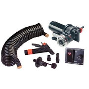 5.2 Gpm Wash Down System Pump Kit With 70 Psi Automatic Cut Off For Boats
