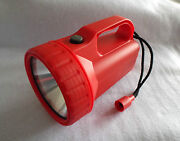 Big Water Resistant Torch C/w Crypton Bulb Takes 4 X D Cells Or Lantern Battery