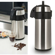 Stainless Steel 3l/5l Airpot Hot Tea Coffee Drinks Vacuum Flask Thermos Jug