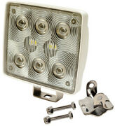 Led Spot Light With Stainless Steel Mounting Hardware For Boats Campers And More