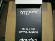 26.39.5 Sieb And Meyer Qty 1 Power Supply Used Purch From Stanley Tools Excess