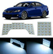 56-smd Exact Fit Led Panels Interior Lights Package For 06-10 Lexus Is250 Is350