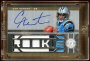 Cam Newton Certified Mirror Gold Rc Auto /25 Jumbo Patches Logo Mint Panthers