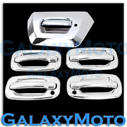 02-06 Chevy Avalanche Triple Chrome Plated 4 Door Handle+psg Kh+tailgate Cover